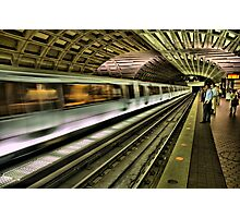 Metro Motion Photographic Print