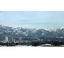 Salt Lake City Utah Photographic Print