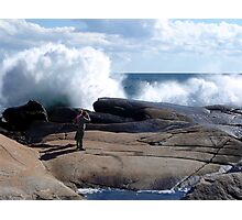 Bursting Waves Photographic Print