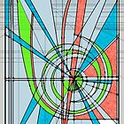 stained glass pattern study 2600 by don quackenbush