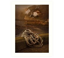 Staithes, North Yorkshire Art Print