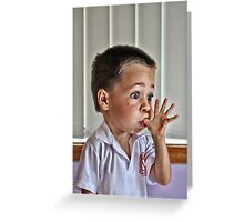 Do you think I can make my head explode? Greeting Card