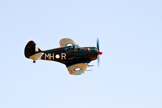 C.A.C  BOOMERANG  RAAF  WW2  Fighter  Aircraft   by aircraft-photos