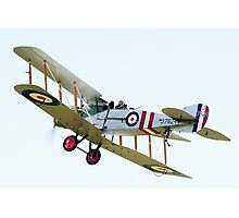 Bristol F2B  WW1  Fighter Aircraft Photographic Print