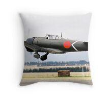 Mitsubishi  A6M  ZERO Throw Pillow