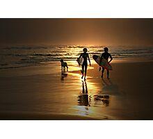 Surfer Dudes Photographic Print