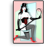 Kitten With A Whip Canvas Print