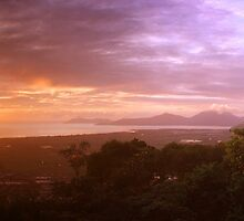 Ross Lookout in Cairns, Queensland by groophics
