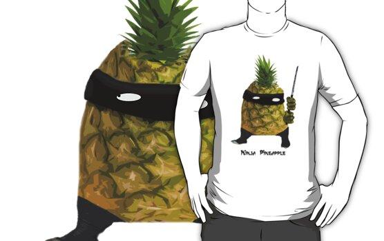 Ninja Pineapple by yvonne willemsen
