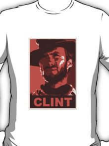 Clint for President: Red Edition T-Shirt