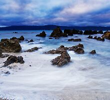 Soft Paua Dawn by Ken Wright