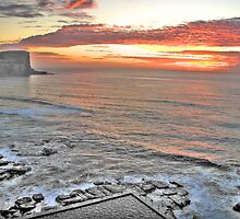 Promise - Avalon Beach Morning - The HDR Experience by Philip Johnson