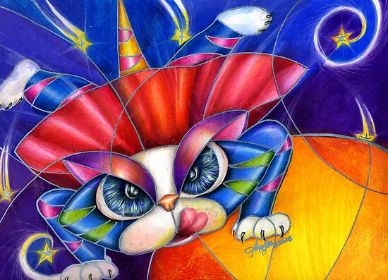 Kami Kaze Kitty by Alma Lee by Alma Lee