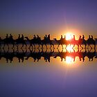 Mirror Sunset by hdimages