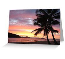 Dunk Island Sunrise Greeting Card