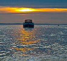 Morston Sunset by DavidFrench