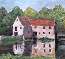The Old Mill. Sturminster Newton by naturalimages
