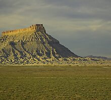 Factory Butte, Utah by Tamas Bakos