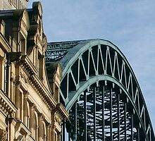 Tyne Bridge Newcastle  by Ladymoose