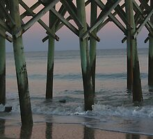 Sunset Under the Pier by Kelly Dean