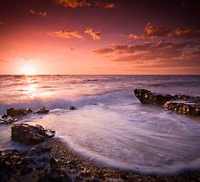 Half Moon Bay Sunset by Alistair Wilson