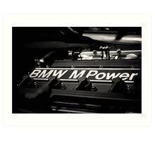 BMW M Power Art Print