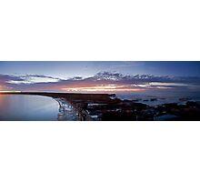 Newcastle sunrise Photographic Print