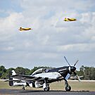 P51 Mustang Taxi by Mark Weaver