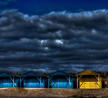 West Wittering - Beach Huts by Greg Roberts