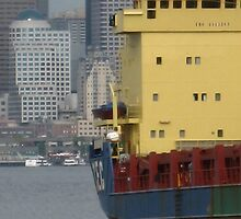 big yellow boat by pallyduck