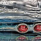Wet Corvette by Robert Beck