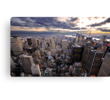 Rockefeller's View Canvas Print