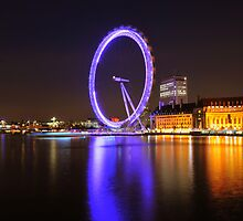 London Eye by Dominic Kamp