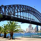 Sydney Harbour Bridge by Crystallographix