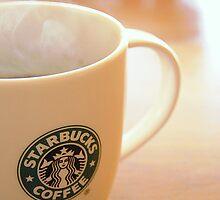 My new starbucks mug by scarletd