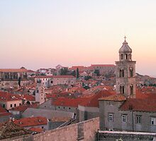Roofs of Dubrovnik by H-Vilendez