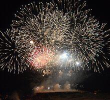Gozo Fireworks festival 2008 Barage - Malta by BertuMalta