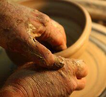 Potter's Hands by David Hopkins