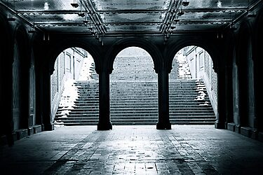 Bethesda Terrace, Central Park, New York City by Jeff Blanchard
