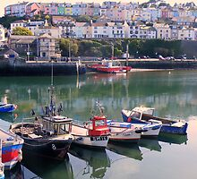 Devon: Brixham Harbour by Rob Parsons