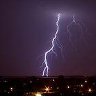 Lightning strike by banditloon