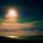 Moon over Santa Cruz by Bekka Björke