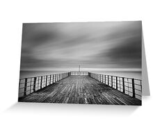 The End Of The Pier Greeting Card