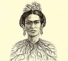 Frida Kahlo by brettisagirl