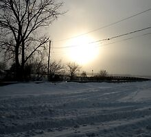 Niagara River in WInter by godmommy5