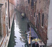 Gondolas of Venice by bevy111