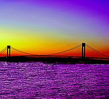 RAINBOWS OVER THE VERRAZANO by KENDALL EUTEMEY