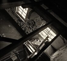 Albion Flour Mill - Stairs by Ricky Sullivan