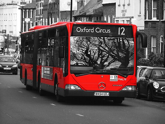 Bendy Bus London by Colin J Williams Photography