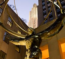 Atlas at Rockefeller Center by Jeff Blanchard